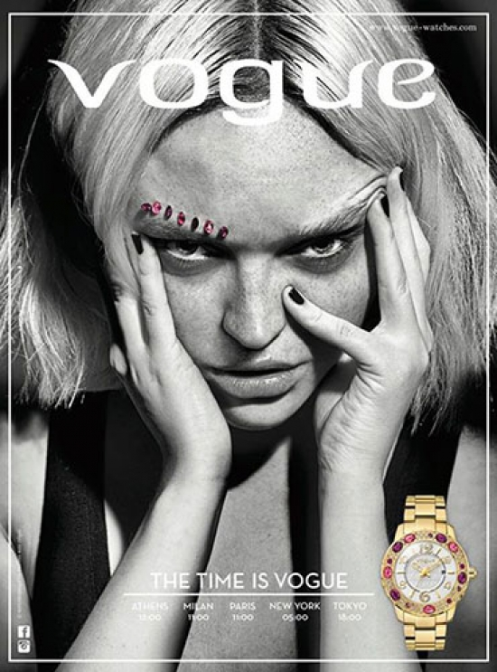 LINDA FOR VOGUE WATCHES